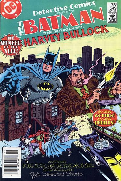 Cover for Detective Comics (DC, 1937 series) #549 [Direct]