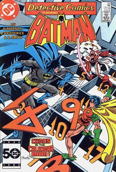 Cover for Detective Comics (DC, 1937 series) #551 [Direct]
