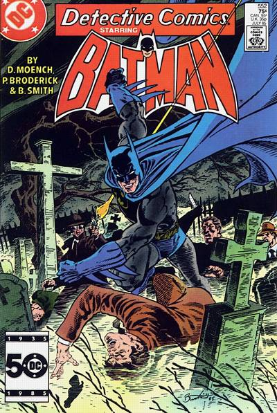 Cover for Detective Comics (DC, 1937 series) #552 [Direct Edition]