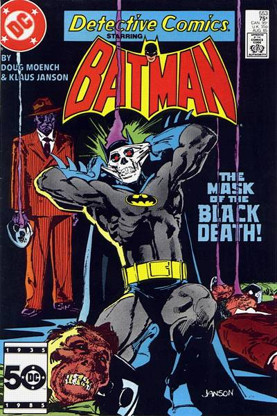 Cover for Detective Comics (DC, 1937 series) #553