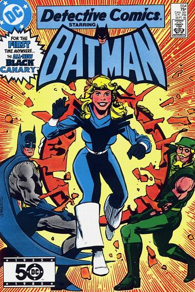 Cover for Detective Comics (DC, 1937 series) #554 [Direct Sales]