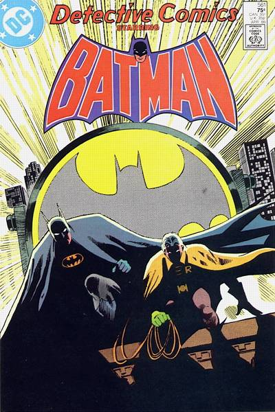 Cover for Detective Comics (DC, 1937 series) #561