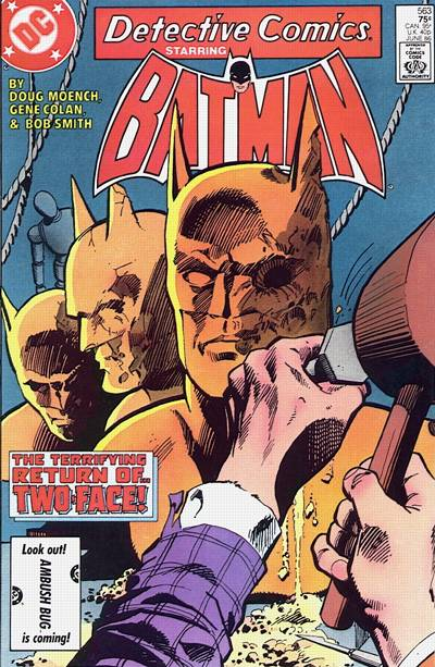 Cover for Detective Comics (DC, 1937 series) #563
