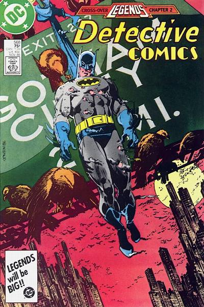 Cover for Detective Comics (DC, 1937 series) #568 [Direct]