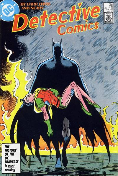 Cover for Detective Comics (DC, 1937 series) #574 [Newsstand]