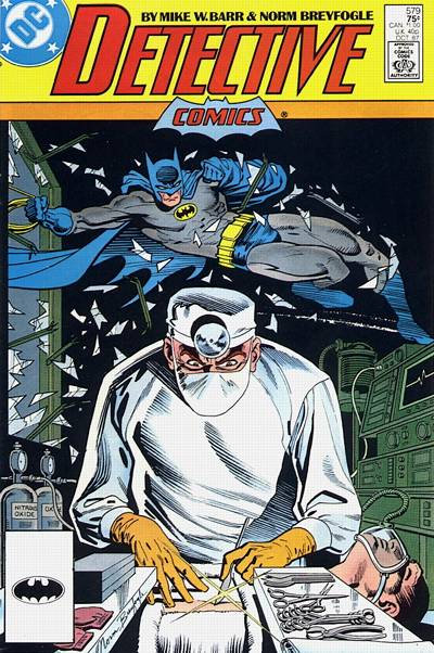 Cover for Detective Comics (DC, 1937 series) #579