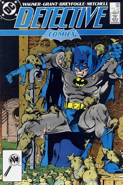 Cover for Detective Comics (DC, 1937 series) #585