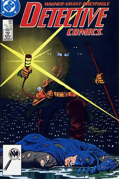 Cover for Detective Comics (DC, 1937 series) #586