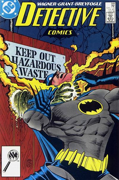 Cover for Detective Comics (DC, 1937 series) #588