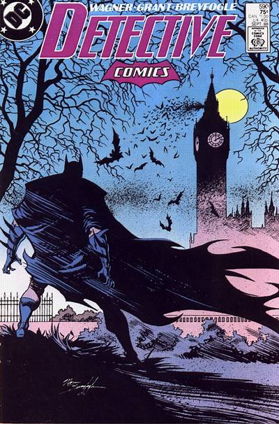 Cover for Detective Comics (DC, 1937 series) #590