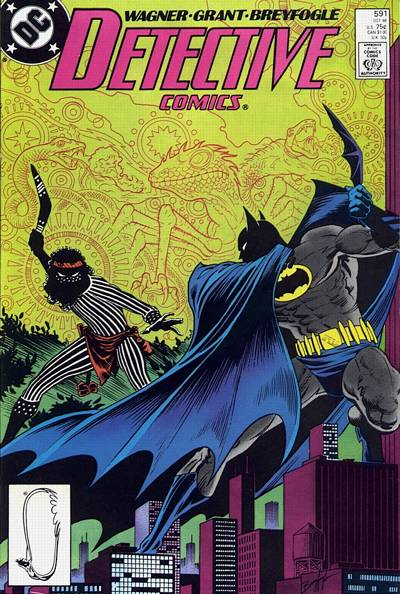 Cover for Detective Comics (DC, 1937 series) #591