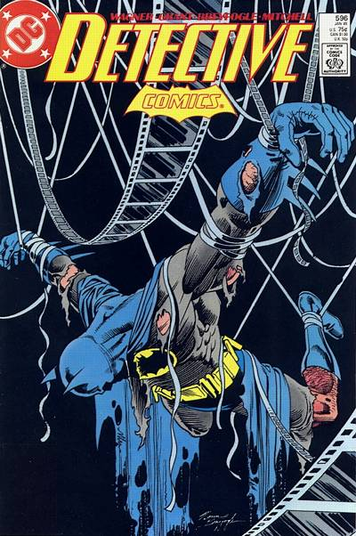 Cover for Detective Comics (DC, 1937 series) #596