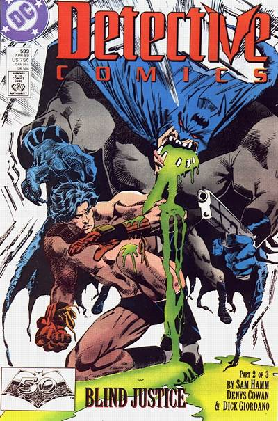 Cover for Detective Comics (DC, 1937 series) #599
