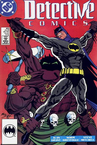 Cover for Detective Comics (DC, 1937 series) #602