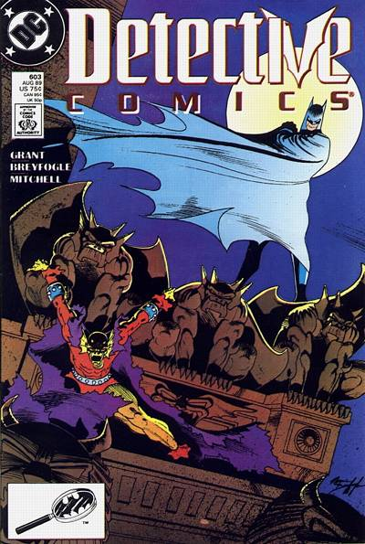 Cover for Detective Comics (DC, 1937 series) #603