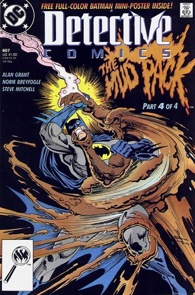 Cover for Detective Comics (DC, 1937 series) #607