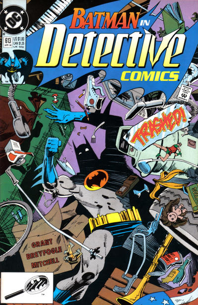 Cover for Detective Comics (DC, 1937 series) #613