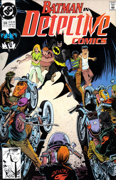 Cover for Detective Comics (DC, 1937 series) #614