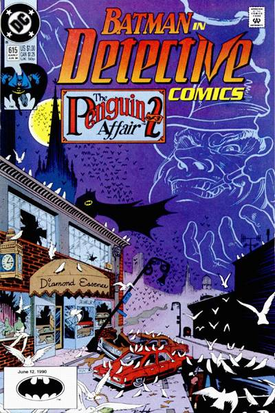 Cover for Detective Comics (DC, 1937 series) #615 [Newsstand]