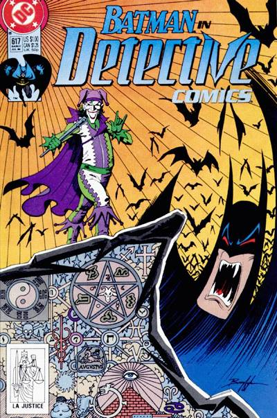Cover for Detective Comics (DC, 1937 series) #617 [Newsstand]