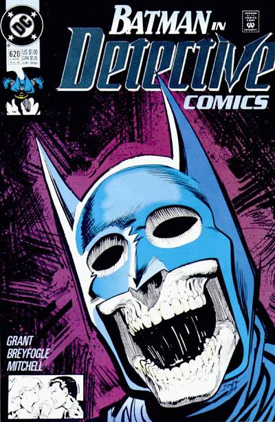 Cover for Detective Comics (DC, 1937 series) #620 [Direct]