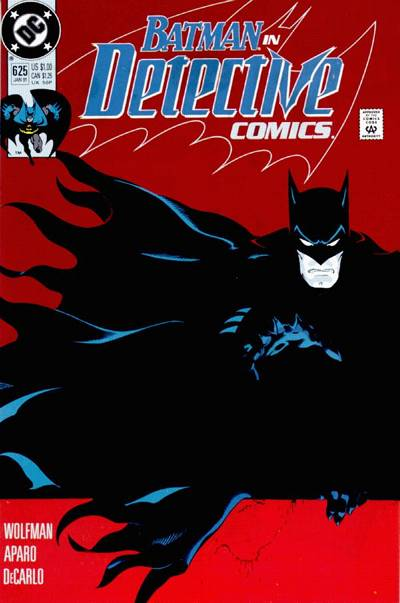 Cover for Detective Comics (DC, 1937 series) #625