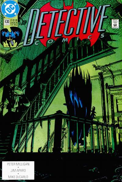 Cover for Detective Comics (DC, 1937 series) #630