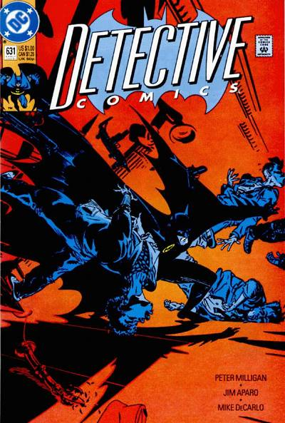 Cover for Detective Comics (DC, 1937 series) #631