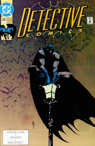 Cover for Detective Comics (DC, 1937 series) #632