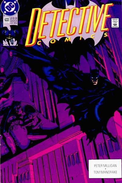 Cover for Detective Comics (DC, 1937 series) #633 [Direct]