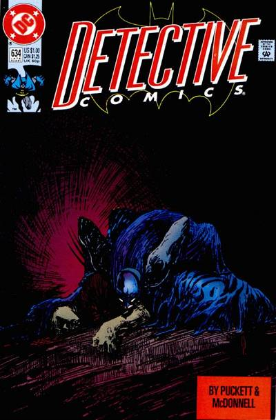Cover for Detective Comics (DC, 1937 series) #634