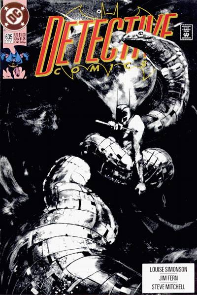 Cover for Detective Comics (DC, 1937 series) #635