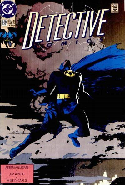 Cover for Detective Comics (DC, 1937 series) #638