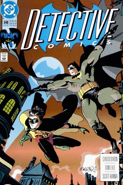 Cover for Detective Comics (DC, 1937 series) #648