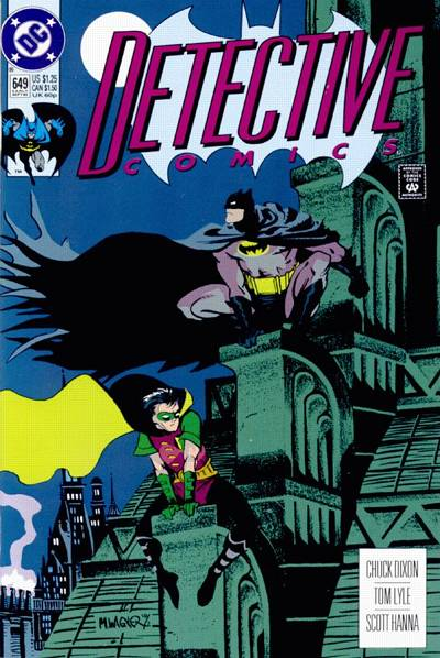 Cover for Detective Comics (DC, 1937 series) #649