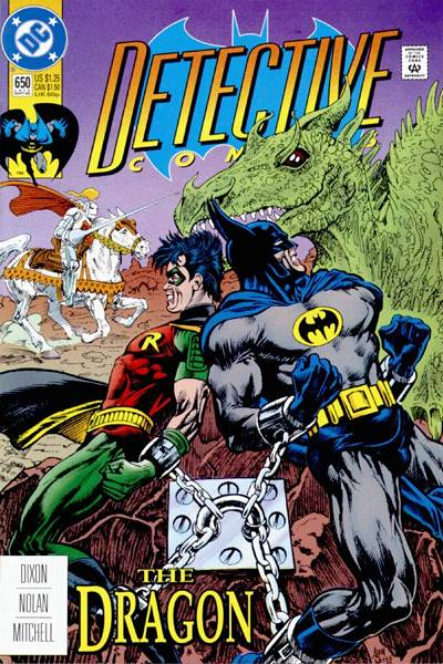 Cover for Detective Comics (DC, 1937 series) #650