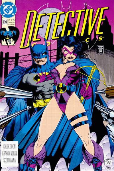 Cover for Detective Comics (DC, 1937 series) #653