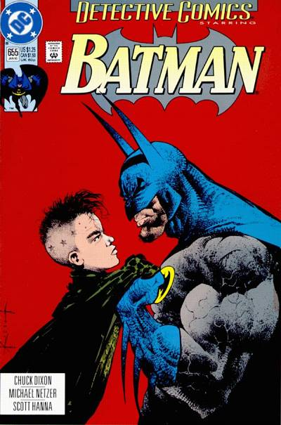 Cover for Detective Comics (DC, 1937 series) #655