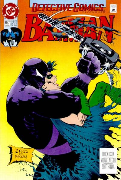 Cover for Detective Comics (DC, 1937 series) #657