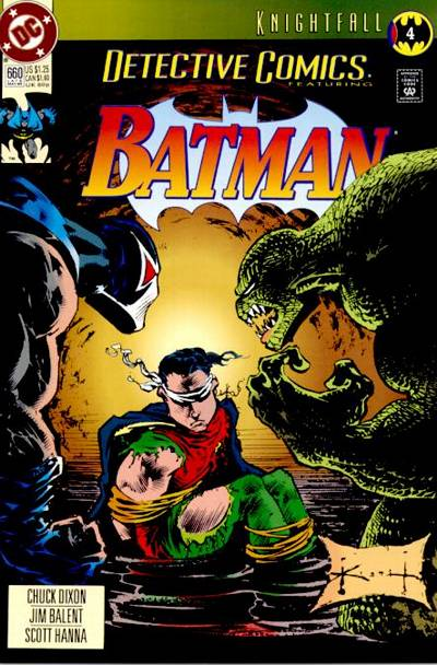 Cover for Detective Comics (DC, 1937 series) #660 [Direct Edition]