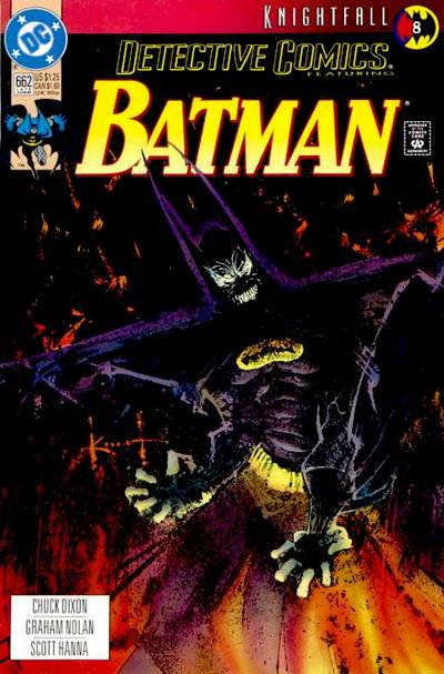 Cover for Detective Comics (DC, 1937 series) #662 [Newsstand]