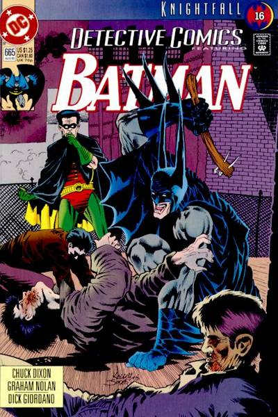 Cover for Detective Comics (DC, 1937 series) #665