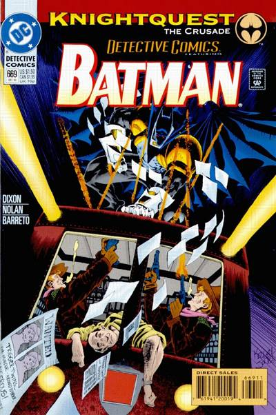 Cover for Detective Comics (DC, 1937 series) #669