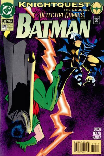 Cover for Detective Comics (DC, 1937 series) #672