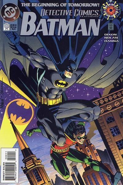 Cover for Detective Comics (DC, 1937 series) #0