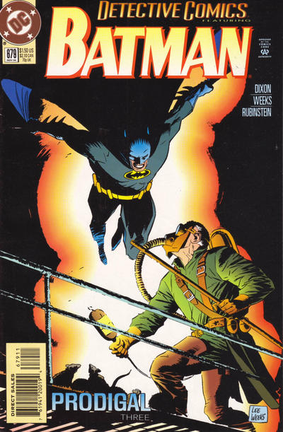 Cover for Detective Comics (DC, 1937 series) #679