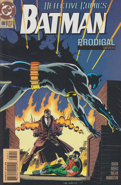 Cover for Detective Comics (DC, 1937 series) #680