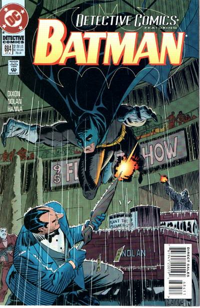 Cover for Detective Comics (DC, 1937 series) #684
