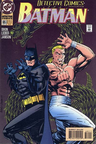 Cover for Detective Comics (DC, 1937 series) #685