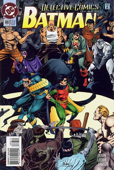 Cover for Detective Comics (DC, 1937 series) #686